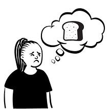girl worried of giving up carbs