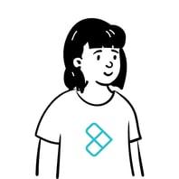 lady wearing a kenzai shirt