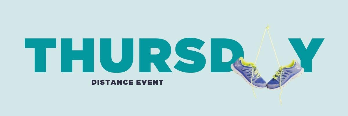 Thursday: distance event