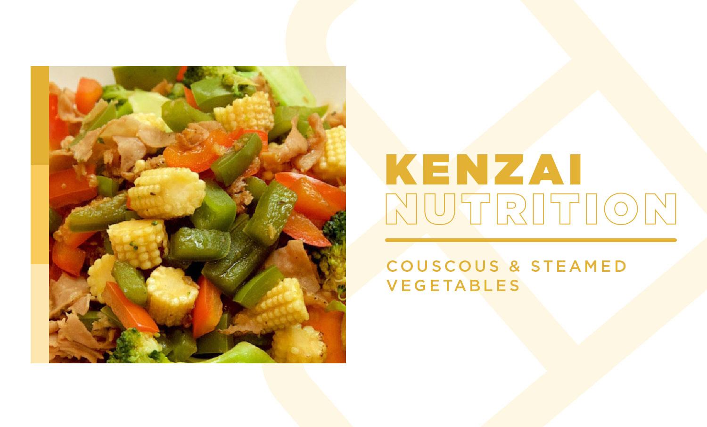 Couscous Steamed Vegetables